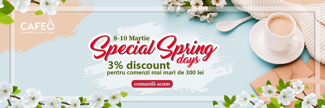 Special Spring Days 08-10 Martie 2021