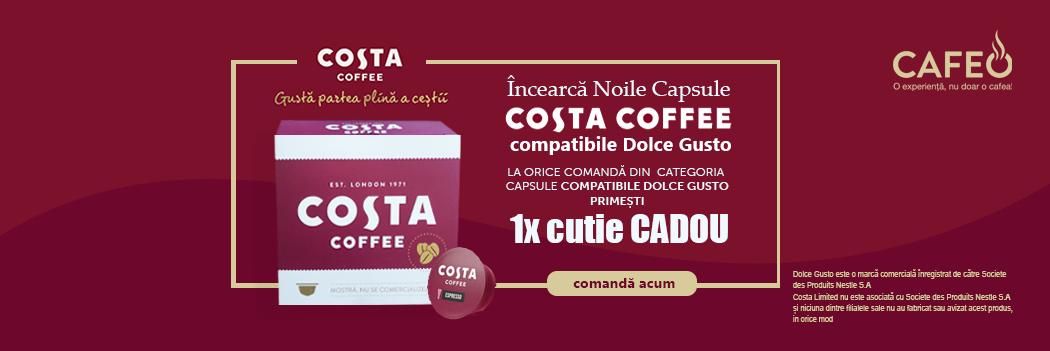 Capsule Costa Coffee compatibile Dolce Gusto Cadou