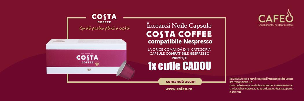 Cadou Costa Coffee Capsule compatibile Nespresso