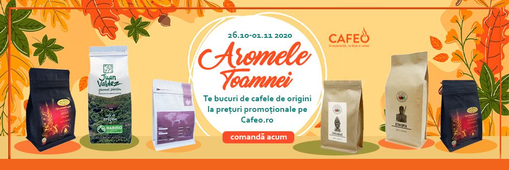 Toamna Aromelor - Cafea Origini - 26 Oct. - 01 Nov. 2020