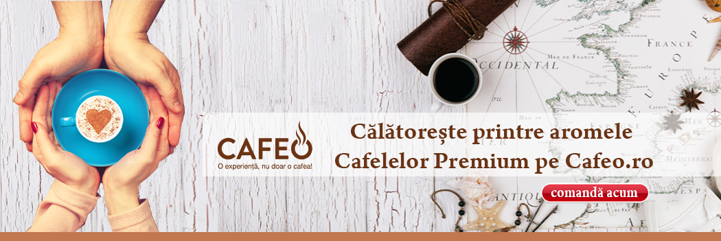Cafeo - Calatoreste printre aromele cafelelor premium Iunie 2019