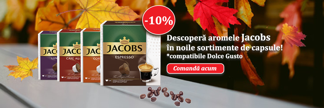 Cafeo - Capsule Jacobs compatibile Dolce Gusto reducere 10%