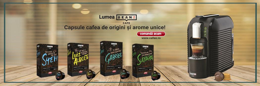 Capsule Origini Beanz Cafe Februarie 2019