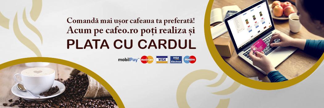 Cafeo - plata online cu card