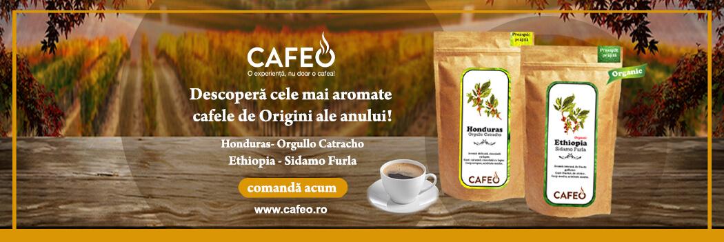 Cafea Origini Cafeo Octombrie 2019