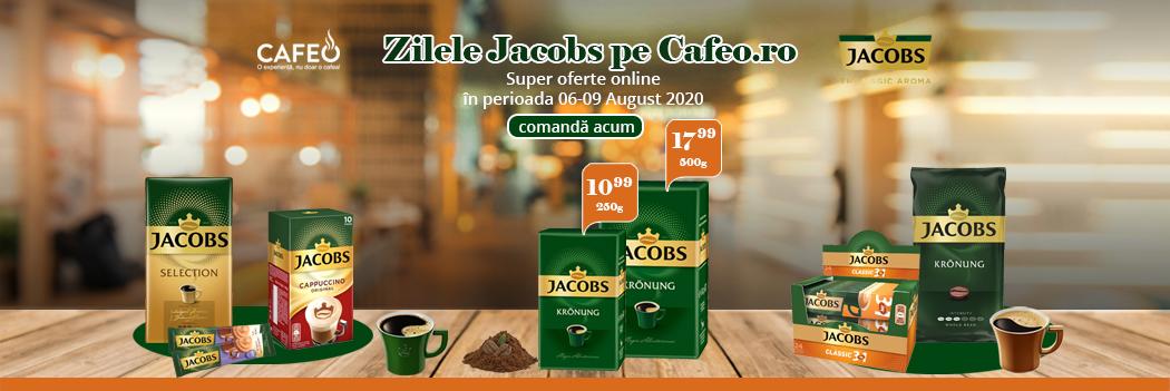 Zilele Jacobs pe Cafeo.ro 06-09 August 2020