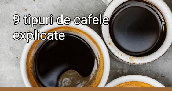 9 tipuri de cafea explicate