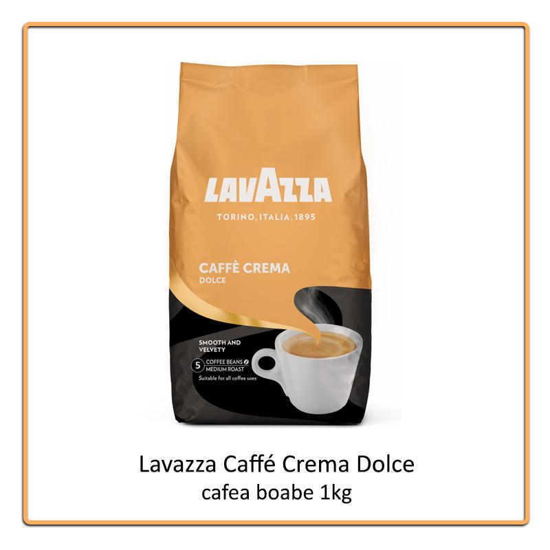 Lavazza Caffé Crema Dolce cafea boabe 1 kg