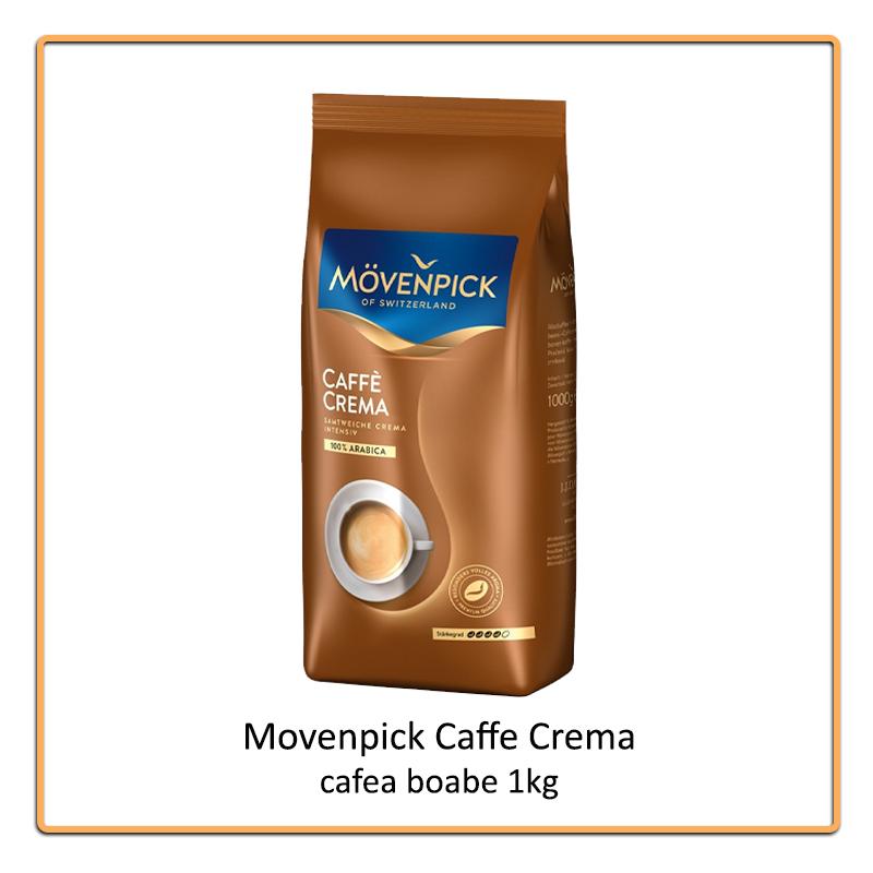 Movenpick Caffe Crema cafea boabe 1kg