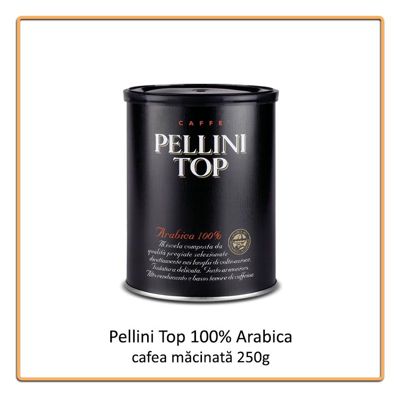 Pellini Top 100% Arabica cafea macinata 250 g