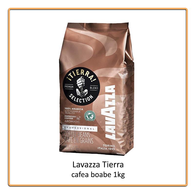 Lavazza Tierra cafea boabe 1 kg