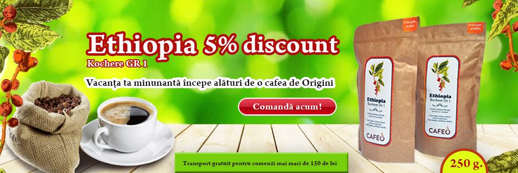 Ethiopia cafea origini discount 5%