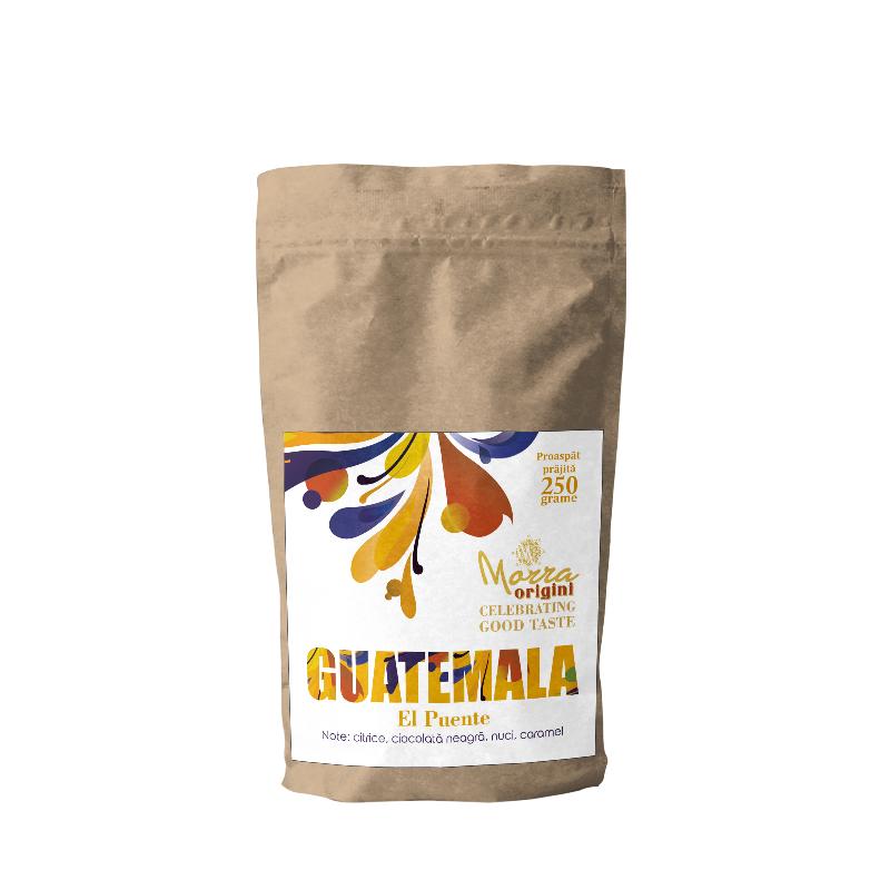 Morra Origini Guatemala Huehuetenango Finca El Puente, cafea proaspat prajita 250 g
