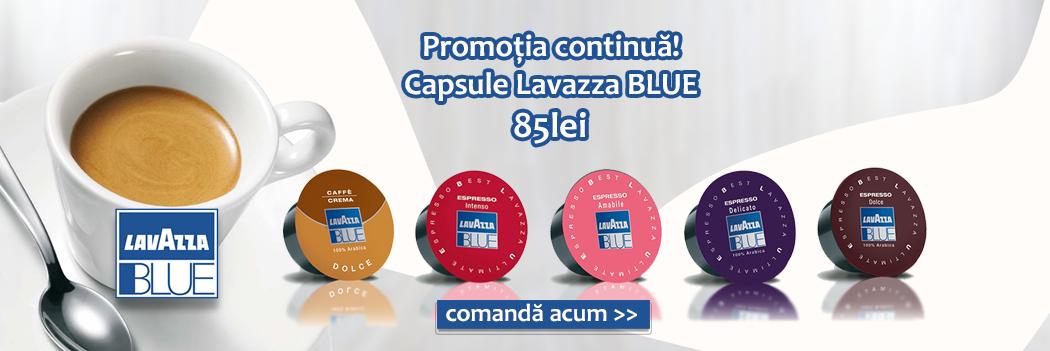 Capsule Lavazza Blue pret promotional 85 lei