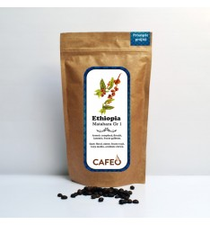 Ethiopia - Matahara Gr 1-cafea boabe proaspăt prăjită 250g