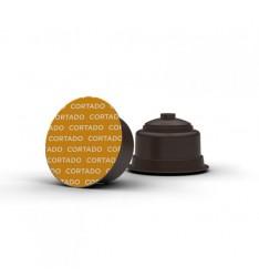 Capsule cafea Cortado-compatibile Dolce Gusto-48 capsule