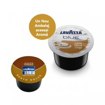 Capsule Lavazza Blue Caffe Crema Lungo - 100 capsule