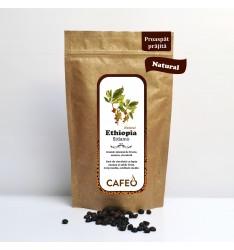Ethiopia Sidamo-cafea boabe proaspat prajita 250g