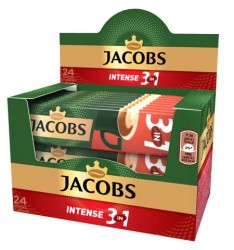 Jacobs 3 in 1 Intense - 24 plicuri