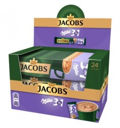 Jacobs 3 in 1 Milka 24 plicuri