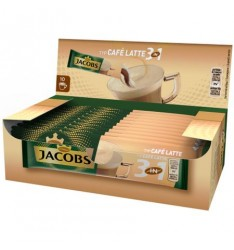 Jacobs 3 in 1 Cafe Latte - 10 plicuri