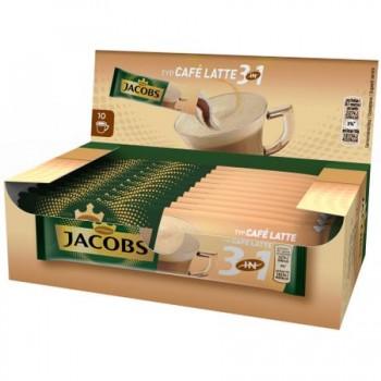Jacobs 3 in 1 Cafe Latte - 10 plicuri