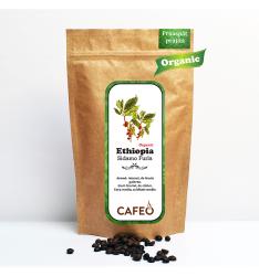 Ethiopia - Sidamo Furla (Organic)-cafea boabe proaspăt prăjită 250g