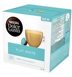 Capsule Nescafe Dolce Gusto White Flat