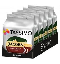 Pachet 5 x Cutii Capsule Tassimo Jacobs Caffe Crema Classico XL