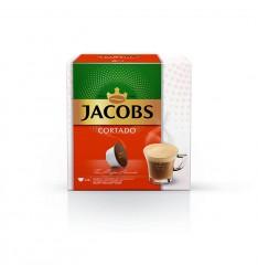 Capsule cafea, Jacobs Cortado, compatibile Nescafe Dolce Gusto®*, 14 bauturi x 80 ml, 14 capsule, 88 g