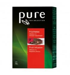 Ceai Pure Tea Fruit cu hibiscus si zmeura - 25 plicuri