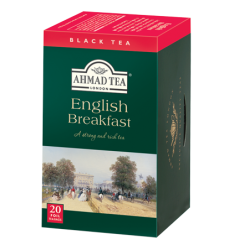 Ahmad ceai negru English Breakfast 20 plicuri
