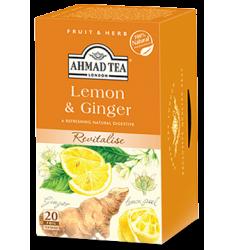 Ahmad ceai lamaie si ghimbir 20 plicuri