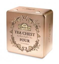Ahmad ceai 4 arome, in cutie metal - 40 plicuri