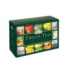 Ahmad ceai 12 arome 60 plicuri