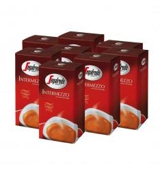 Pachet 8 x Segafredo Intermezzo cafea boabe 1kg