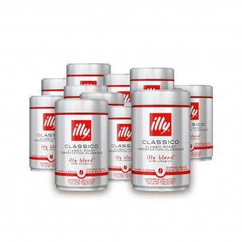 Pachet 12 x Illy Espresso cafea boabe 250g