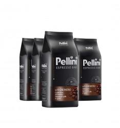 Pachet 6 x Pellini No 9 Cremoso cafea boabe 1kg