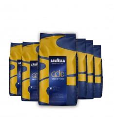 Pachet 6 x Lavazza Gold Selection cafea boabe la 1 kg