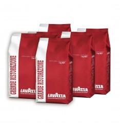 Pachet 6 x Lavazza Grande Ristorazione cafea boabe la 1 kg