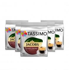 Pachet 5 x Cutii Capsule Tassimo Jacobs Caffe Crema Classico