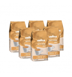 Pachet 6 x Lavazza Caffe Crema Dolce cafea boabe 1kg