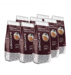 Pachet 8 x Doncafe Espresso Crema Perfetta cafea boabe 1kg