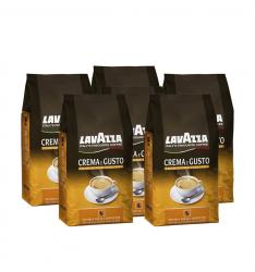 Pachet 6 x Lavazza Crema e Gusto Tradizione Italiana cafea boabe  la 1 kg