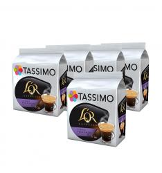 Set 5 x Cutii Capsule cafea, L'OR Tassimo Lungo Profundo, 16 bauturi x 120 ml, 16 capsule