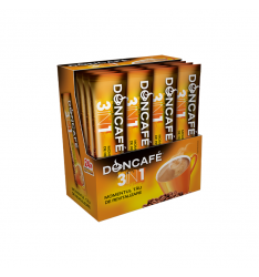 Doncafe Mixes 3 in 1 cafea solubila 13g - 24 plicuri