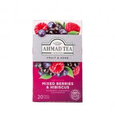 Ahmad ceai fructe de padure 20 plicuri