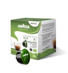 Capsule Lavazza Espresso Bio, capsule compatibile Dolce Gusto-16 capsule