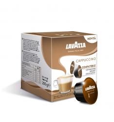 Capsule Lavazza Cappuccino, capsule compatibile Dolce Gusto-16 capsule