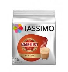 Capsule Tassimo Marcilla Cortado, 16 capsule